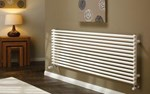The Radiator Company Volcano Cubed Double Horizontal Designer Radiator in Colour