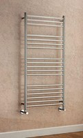Cheshire Radiators Holt Polished Stainless Steel Cross Tube Towel Rail