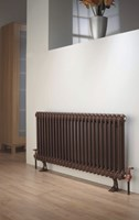 Ancona 2 Column Period Radiator in White by The Radiator Company