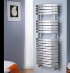 Aquila Dual Fuel Thermoststic POL1 Towel Radiator by MHS Radiators