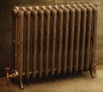 Rococco/Windsor 950 - 1 Column - Period Radiator Painted By Carron Radiators at Jig