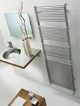 BD 13 Single Chrome/ Nickel Towel Radiator By The Radiator Company