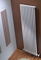 The Radiator Company TRC35 Single Vertical Tubular Radiator in Colour