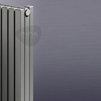 MHS Carre (formerly Carissa) Double Horizontal Steel Slimline Tubular Designer Radiator by MHS Radiators