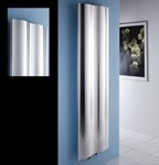 Motus Polished Contemporary Radiator Designed By MHS Radiators