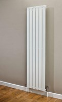 Cheshire Radiators Bretton Double Vertical Flat Tube Steel Radiator in white