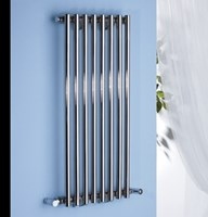 Monoline Stainless Steel Designer Radiator by MHS Radiators For Wet Systems