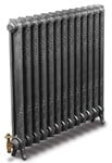 Rococco/Windsor 950 - 1 Column - Period Radiator - Antique/Highlighted By Carron Radiators at Jig