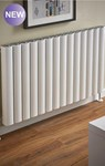 The Radiator Company Vista Horizontal Radiator in White or Black