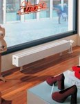 The window convector low profile heating solution by Kermi.