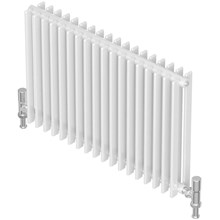 Quinn Adagio 35 600mm High Double Horizontal Column Radiator 630mm-1995mm Width