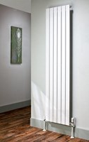 The Radiator Company Picchio Double Vertical Designer Radiator in White