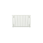 Bisque Crea-Therm CV60-57 Horizontal Radiator in White (Single Tubes)