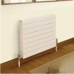 Quinn Slieve 433mm High Single Horizontal Radiator 500mm-2000mm Width