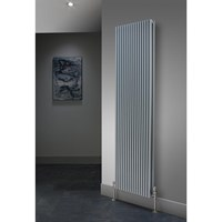 The Radiator Company TRC16 Single Vertical Tubular Radiator in White