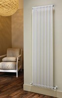 The Radiator Company TRC25 Vertical Double Vertical Tubular Radiator in White