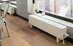 The Radiator Company Mini 230mm Low Horizontal Radiator in White