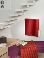 Zehnder Nosta NZ-060 Range Column Electric Radiator in White