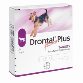 Drontal Plus Round And Tapewormer 1 Dose 10kg Cheap