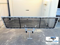 Camper Trailer / Caravan Stone Guard - FREE FREIGHT OZ WIDE