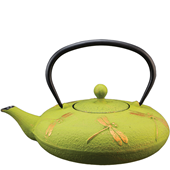 Teapot - Dragonfly Green