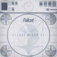 Fallout - The Board Game - Please Stand By Gamemat (Please see product desc.)