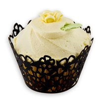 Jumbo Cupcake Wrapper Flower