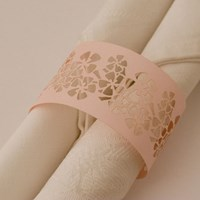 Napkin Ring Flowers - Fairy Floss Lust.