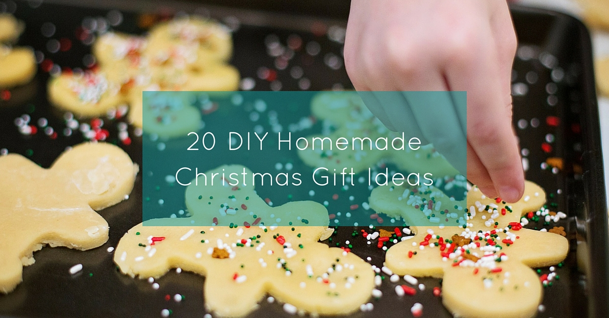 20 DIY Homemade Christmas Gift Ideas