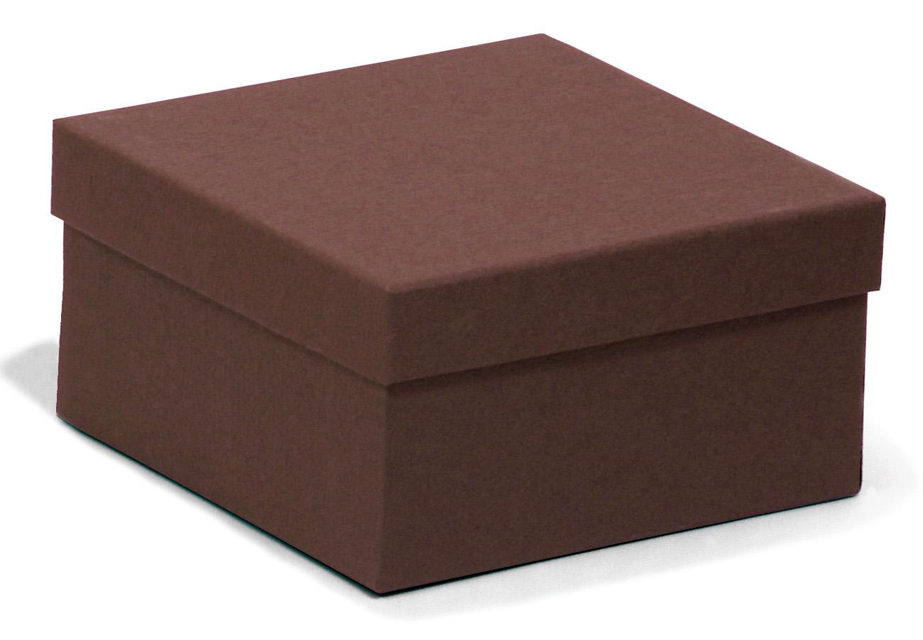 Square kraft chocolate recycled jewellery box recyled for Eco boxes