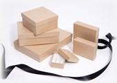 Kraft Natural jewellery boxes & small gift boxes