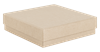 Wholesale kraft gift boxes recycled - 89 x 89 x 23mm (KR18)