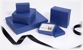 Kraft Dark Blue jewellery boxes and gift boxes