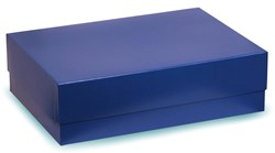 Blue Box With Blue Satin Lining 380x270x70mm
