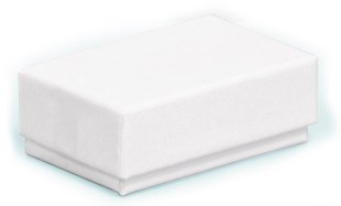 Tiny white gift boxes in cardboard | Multi purpose small gift boxes 46x29x16mm (CF11)