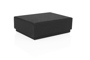 Black Earring box 75 x 55 x 25mm (WPEABL)