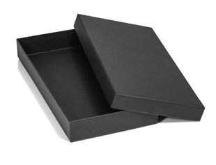 Black Matt Luxury Glove Box 250 x 120 x 30mm (MMGLBL)