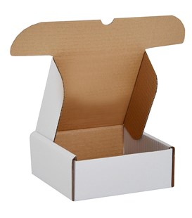 White Mailing Box for 178 x 144 x 56mm (WHMM178) (C08)