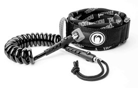 NOMAD LARGE BICEP LEASH - Silver