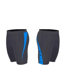 ZION WETSUITS MATLOCK 2/2mm Wetsuit Shorts - Black/ Blue 2013/14 Summer Range