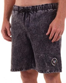 GRAND FLAVOUR Sucker Shorts - Black
