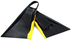 Viper Delta Bodyboard Fins - Black/ Yellow