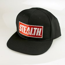 STEALTH Bodyboards Logo Snap Back Hat