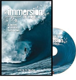 IMMERSION The Movie - DVD by Tim Bonython