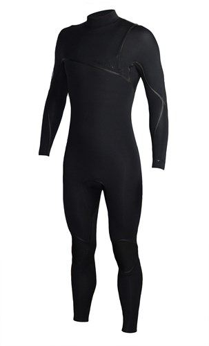 REEFLEX WETSUITS Jerry Series 3/2mm GBS Zipperless Sealed Steamer - Black - 2016/17 Summer Range