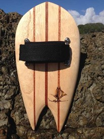 STING GLIDE Wooden Handboards - Swallow Tail