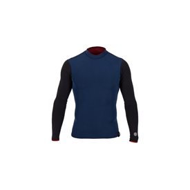 Agent Eighteen Wetsuits - Winston 0.5mm Wetsuit Top - Black/ Midnight - Summer 2015/16 Range