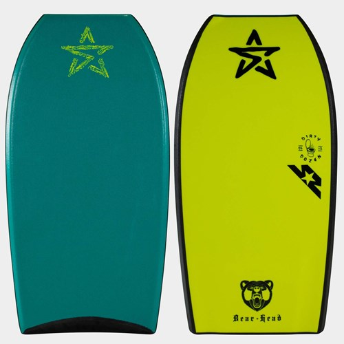 "STEALTH BODYBOARDS Jake Stone ""Bear Head - Dirty Dozen 2.0"" Polypro Core - 2017/18 Model"