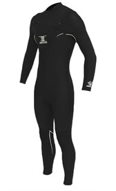 REEFLEX WETSUITS JUPITER 4/3mm CHEST ZIP STEAMER - Dusk V2