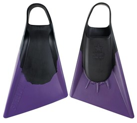 STEALTH S2 FINS - Black / Purple